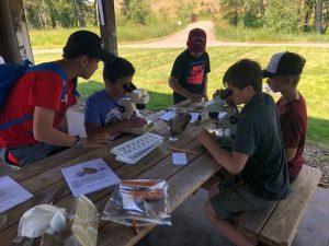 camp activity photo