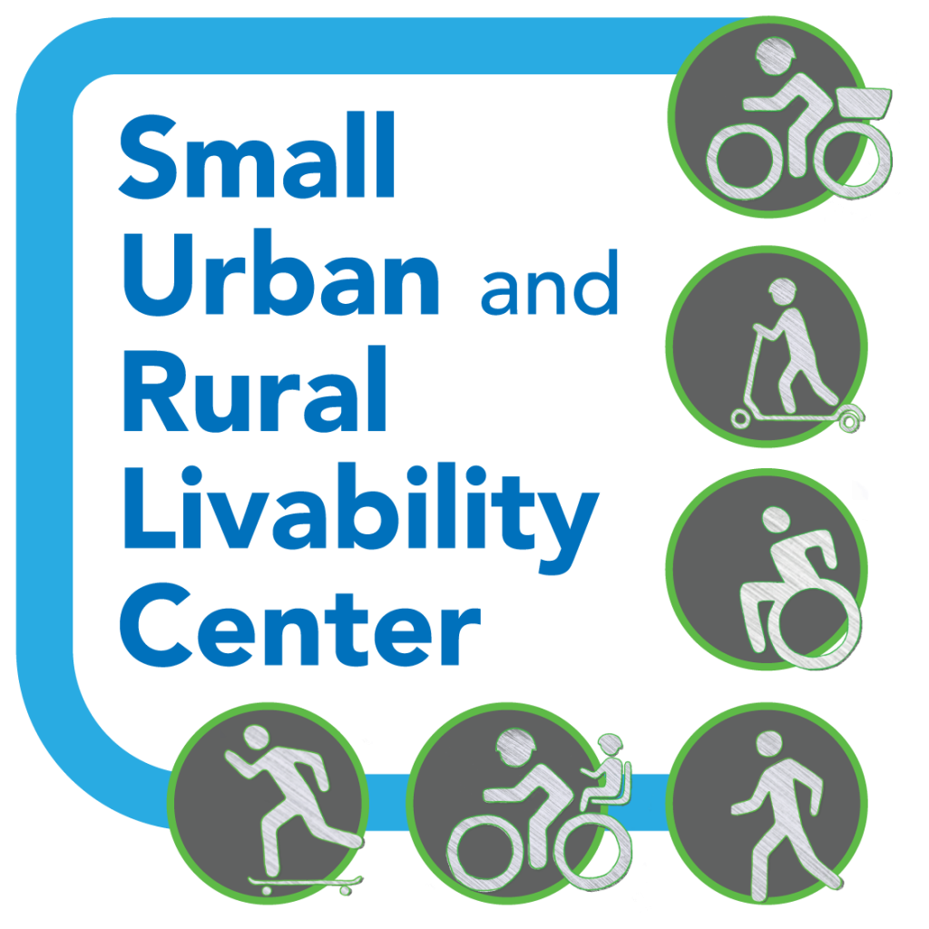 Logo for Small Urban and Rural Livability Center
